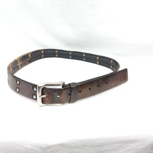 Levi's Studded Leather Brown Belt M
